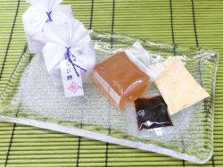 わらび餅・黄名粉・黒糖蜜